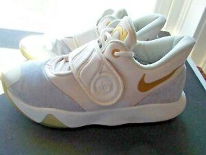 Nike KD Trey 5 VI Men's Basketball Shoes AA7067 135 Off White/Wolf Grey Size 7.5