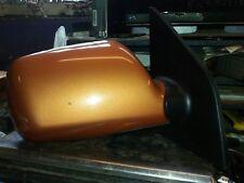 2005 kia picanto drivers side electric wing mirror in orange