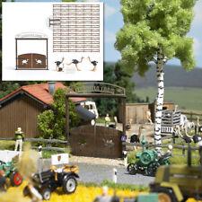 Busch 1038 Granja de avestruces, kit construcción, H0