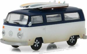 Greenlight 1/64 1973 Volkswagen Type 2 Van w/ Surfboards HOBBY EXCLUSIVE 29956