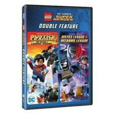 Lego DC Comics Super Heroes Double Feature DVD Set BRAND NEW SEALED