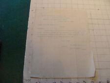 vintage Original letter: 1898 ROGERS MACHINE CO. CHICAGO, to Norwalk air & gas