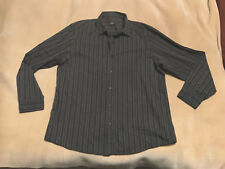 Mens George Striped Shirt Size 2XL Long Sleeve Good Condition. Plenty Life In It
