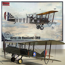 RODEN 1/48 AIRCO de HAVILLAND DH9 WWI BRITISH BOMBER