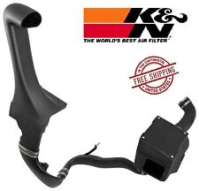 K&N AirCharger 63 Series Air Intake System w/ Snorkel Kit 12-18 Jeep JK 3.6L V6