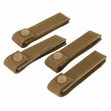 "Lot of 4 Condor 4"" Inch Molle MOD Straps Coyote Brown #223"