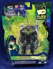 """New NANOMECH - 4"""" Ben 10 ALIEN FORCE Action Figure Collection BANDAI #27720"""