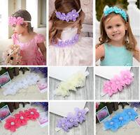 Princess Vintage Headband Flower Girl Hairband Accessories Baby Headwear Elastic
