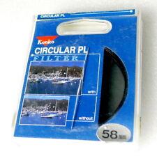 58mm KENKO Circular PL Polarizer Filter - NEW