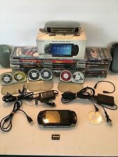 Sony PSP-1001K Value Pack (Black) Bundle w/ Logitech Protective Case
