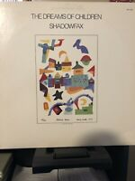 "SHADOWFAX THE DREAMS OF CHILDREN 1984 12"" JAZZ ROCK VINYL LP ALBUM RECORD"