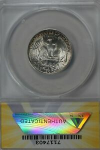 1950-S  .25   ANACS   MS 67   Washington Quarter, Silver 25 Cents (0.25)
