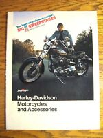 1975 Harley-Davidson Motorcycles & Accessories Brochure, Sportster FLH XL SS-250