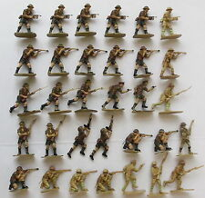 Painted Plastic Airfix Toy Soldiers 21-50