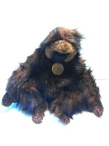 "Disney Animal Kingdom Classic Aurora Plush Gorilla Ape Monkey Chimp 14"""
