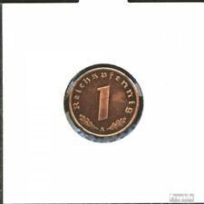 Deutsches Reich Jägernr: 361 1939 E vorzüglich Bronze 1939 1 Reichspfennig Reich