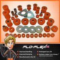Land Rover Defender 90 Suspension Bushes 1994+ Front & Rear Kit in Poly Flo-Flex