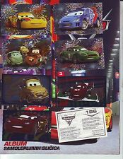 EMPTY ALBUM AND FULL STICKER SET - DISNEY PIXAR CARS 2 PANINI