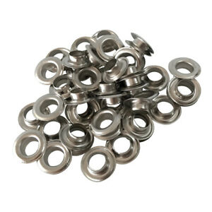 200 Stainless Steel Semi-Automatic Banner Eyelets for PVC Vinyl Printing 10 12mm