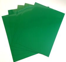 10 x A4 Sheets Green Chromolux Card 250gsm NEW