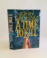 A Time to Kill-John Grisham-SIGNED!!-INSCRIBED!!-First Edition/1st Printing-RARE