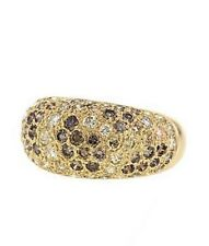 Cartier 1999 Sauvage Colour Diamonds 3.61ct.Yellow Gold 18k. UK Ring Size: J1/2
