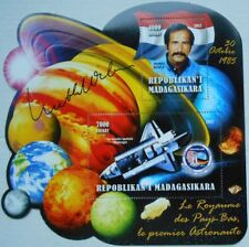 Wubbo Ockels Challenger first Holland astronaut space s/s Madagascar #MDG2012-10