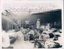 1962 Cuba Refugees on African Pilot Ship 1960s Press Photo