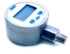 NNI Digital Pressure Gauge 300psi for Liquid/Gas 316 Body 1% Accuracy