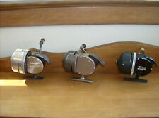 3 Shakespeare Wondercast Antique Spin Cast Fishing Reels - 1771, 1775 & 1797
