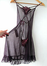 CLOSING DOWN SALE Sexy sz 8 10 Backless Sleepwear Dress Top