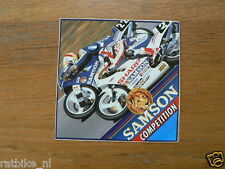 STICKER,DECAL SHARP SAMSON HANS SPAAN, WILCO ZEELENBERG HONDA NSR EN RS NO 22,2