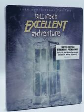 Bill & Ted's Excellent Adventure (Blu-ray Disc, 2018; Limited Ed. SteelBook) NEW