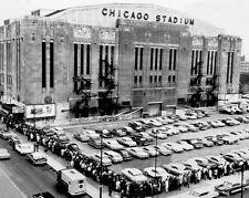 Bulls & Blackhawks CHICAGO STADIUM Glossy 8x10 Photo Print Arena Poster