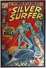 SILVER SURFER 17 Signed Limited edition print #20 MATT DYE BLUNT GRAFFIX