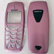Cover Nokia 3510 3510i Frontcover Oberschale rosa Rose