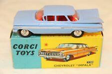 "Corgi Toys 220 Chevrolet ""Impala"" 99% mint in box all original condition. Superb"