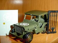 JEEP WILLYS MILITARY CAR 1:43 MINT!!!