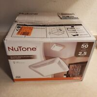 Nutone 50 CFM Ceiling Bathroom Exhaust Fan with Light - PREOWNED!