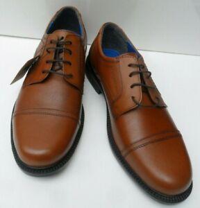 Mens Oaktrak Tan Leather Lace Up Shoes - Size UK 7 & 9  EUR 41 & 43