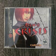 Dino Crisis (Sega Dreamcast, 2000) Complete, Good Condition