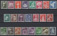 CB145239/ WEST GERMANY – YEARS 1975 - 1982 MINT MNH – COMPLETE SET