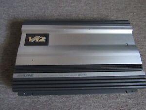 Old School Alpine V-12 MRV-F357  Car Amp 5 Channel Amp !!!
