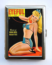 Cigarette Case Eyeful Magazine Pin up Wallet Card Holder