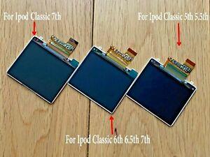 Replacement LCD Screen Apple iPod Classic 5th 6th 6.5th 7th Gen 30GB-120GB 160GB