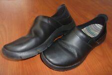 Dansko Enya Black Leather Clogs Shoes 41