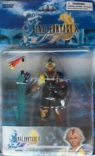 FINAL FANTASY X TIDUS 2001 BAN DAI CARDED FIGURE EXTREMELY RARE NEW/SEALED