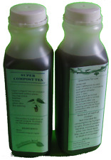 Super Compost Tea, organic plant food (2x 16oz bottles)