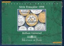 Coffret VIDE - Fleurs de Coins Brillant Universel 1998 BU -  Monnaie de Paris