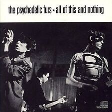 All of This and Nothing by The Psychedelic Furs - GD+ Used CD (1988) New Wave